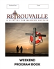 NEW Weekend Program Book FULL COLOR - pack of 25