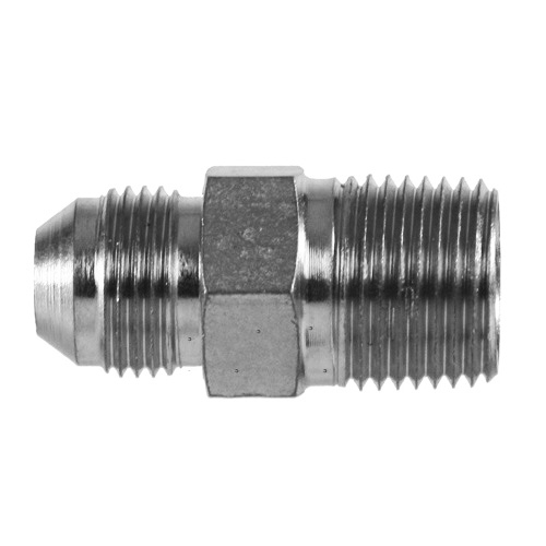 Parker 4-4 FTX-SS Male Adapter 1//4 JIC X 1//4 NPT Male Stainless Steel