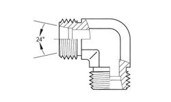 90 degree Light Duty DIN Union Elbow Stainless Steel