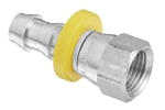 Push On - BSP Female Swivel- Stainless