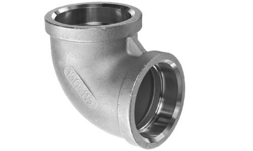 Stainless steel socket weld elbow fittings