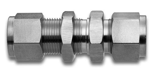 Ub bulkhead union stainless steel compression fittings