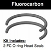 "CB202HL005, HEAD SEAL KIT, 2"" BORE, FLUOROCARBON (VITON)"