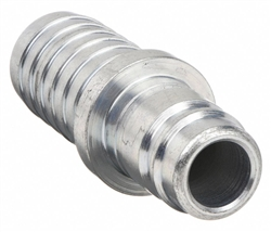 "H9C, PARKER 1/4"" PNEUMATIC STEEL NIPPLE HOSE BARB, 300 PSI MAX OPERATING PRESSURE."