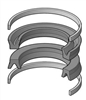 "HSKA5-512-03, PISTON SEAL KIT, 1-1/2"" BORE, NITRILE"
