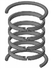 "HV2-KB400-400, PISTON RING KIT, 4"" BORE, CAST IRON / FLUOROCARBON (VITON)"