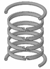 "JV-KB300-400, PISTON RING KIT, 4"" BORE, NITRILE"