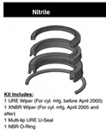 "PH06SH000, ROD SEAL KIT, 5/8"", NITRILE"