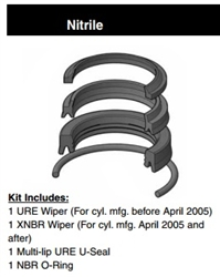 "PH17SH000, ROD SEAL KIT, 1-3/4"", NITRILE"