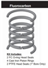 "PR252H0005, PISTON RING KIT, 2-1/2"" BORE, FLUOROCARBON (VITON)"