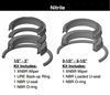 "RK2AHL0101, ROD SEAL KIT, 1"" ROD, NITRILE"