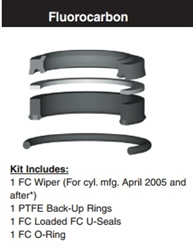 "VH17SH000, ROD SEAL KIT, 1-3/4"", FLUOROCARBON (VITON)"