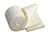 3 inch 2 ply white and yellow receipt rolls