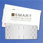 SMART Cleaning Card for Chip & Pin, EMV, and Mag Stripe Card Readers, 10 per pack