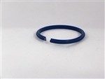 M-123-SX - Blue Fast Fit Creasing Rib - No Lugs - for Roto Crease and Dick Moll