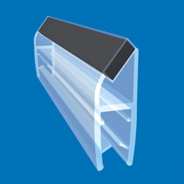 Magnetic Shower Door Seal 180 Or 90 Degrees 25 27mm