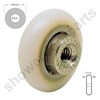 Two Replacement Shower Door Wheels -SDR-017-19-M4T