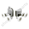Two Replacement Shower Door Rollers-SDR-058-23.5