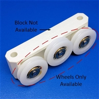 Replacement Bi-Fold Sliding Wheels IMA-BLOCK