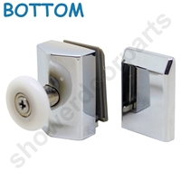 Two Replacement Shower Door Rollers-SDR-M6v-B