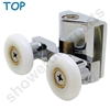 Two Replacement Shower Door Rollers-SDR-M6v-T