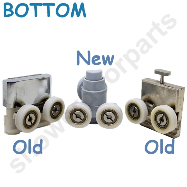 Two Replacement Shower Door Rollers Sdr M5 B