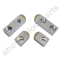 Four shower door stops SDR-MER-STOP