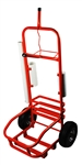 Red Service Cart