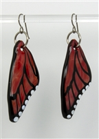 Chili Butterfly Wing Earrings