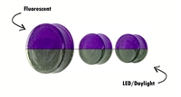Purple Moon Compact Fluorescent Plugs