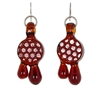 Earrings - Honeycomb Drop