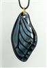 Sapphire Sparkle Butterfly Wing Pendant