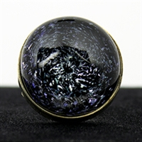 Grape Galaxy Silver Ring