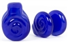 Clouded Egyptian Blue Swirl Coin Weights