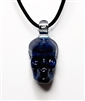 Night Sky Skull Pendant