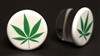 Green Hemp on White Plugs SF (24mm)
