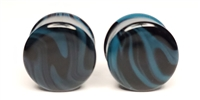 Aqua and Black Borostone DF (16mm)