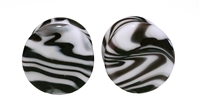 Borostone - Black and White (19mm)