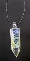 Translucent Green Smoke Pendant