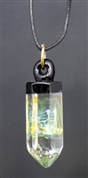 Blacktop Yellow Smoke Pendant