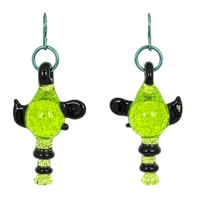 Ray Gun Earrings