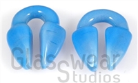 Small Baby Blue Keyhole Weights