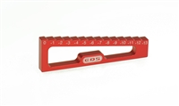 CHASSIS DROOP GAUGE 0 TO -13 MM FOR 1/8 OFF-ROAD & TRUGGY
