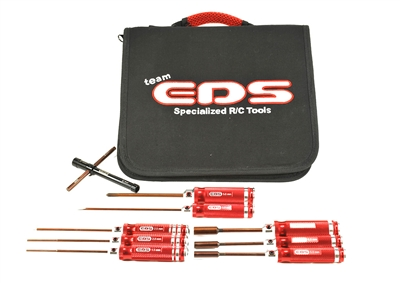 COMBO TOOL SET WITH TOOL BAG - 9 PCS. (METRIC SIZES)