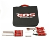 COMBO TOOL SET FOR ELECTRIC TOURING CARS WITH TOOL BAG - 9 PCS.