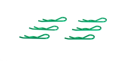 BODY CLIP 1/8 - METALLIC GREEN (6)