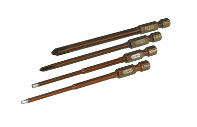 COMBO POWER TOOL TIP SET - 4 PCS.