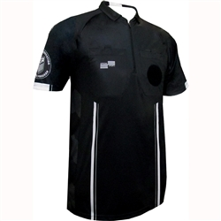 Black Short Sleeve Pro OSI Ref Shirt