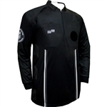 Black Long Sleeve Pro OSI Ref Shirt