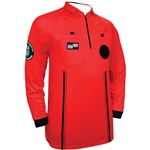 Red Long Sleeve Pro OSI Ref Shirt